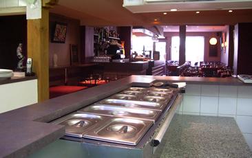 Restaurant pizzeria la dolce vita valognes bonne table for Cuisine ouverte restaurant norme